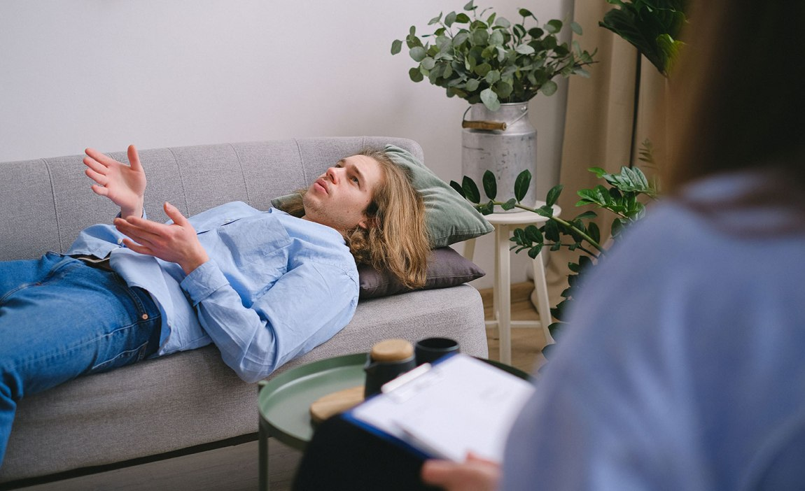 A highly sensitive person goes to therapy