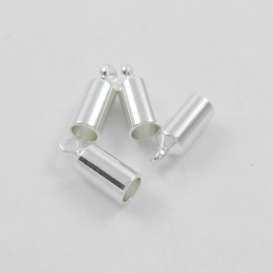 3mm-glue-on-kumihimo-end-caps-with-loop-silver-plated
