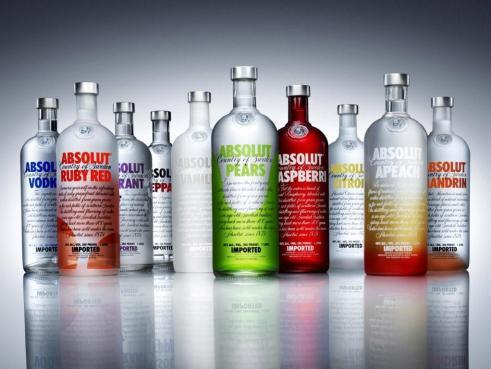 absolut vodka original bottle design