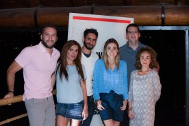 Arturo Palacios, Zoraida G+¦mez, Enrique de la Riva, Edna Monroy, Juan Manuel Lechuga y Mariana Avila