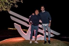 Ciro Hern+índez Brand Manager de la marca y Roberto Carlo