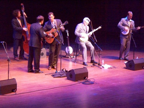 Steve Martin and The Steep Canyon Rangers.