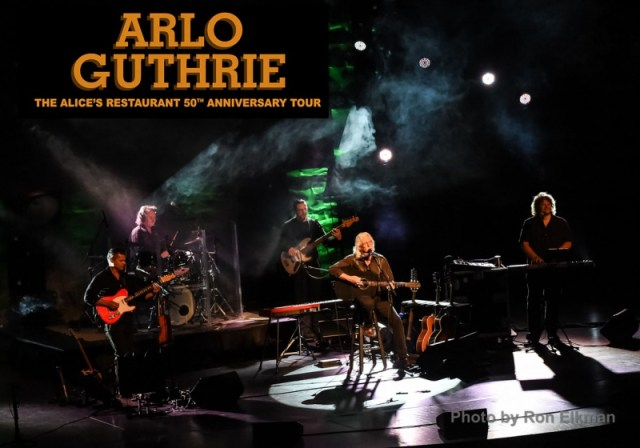 Arlo Guthrie 50th Anniversary of Alice's Resturant tour