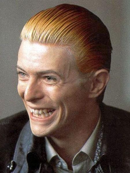 David Bowie in 1976, courtesy of davidbowie.com
