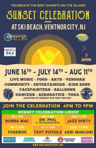 Sunset Celebration - A Tribute To Bubba Mac featuring Fusebox @ Ski Beach | Ventnor City | New Jersey | United States
