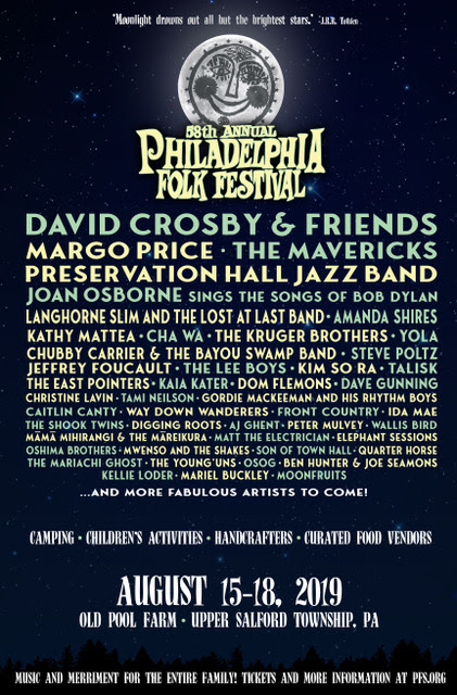 Philly Folk Fest Lineup
