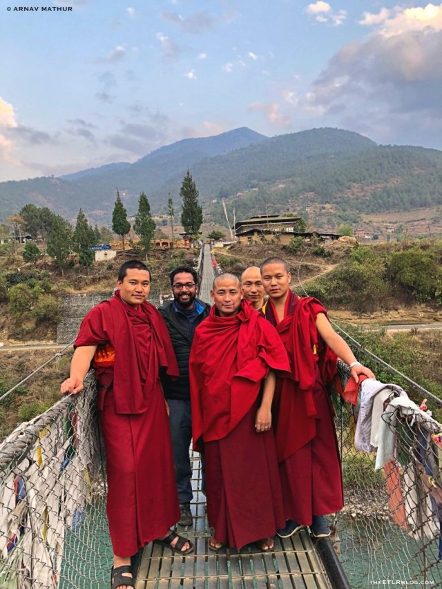 The Bhutan Travel Guide by High on Himalayas With Monks