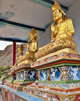 Key Monastery buddha
