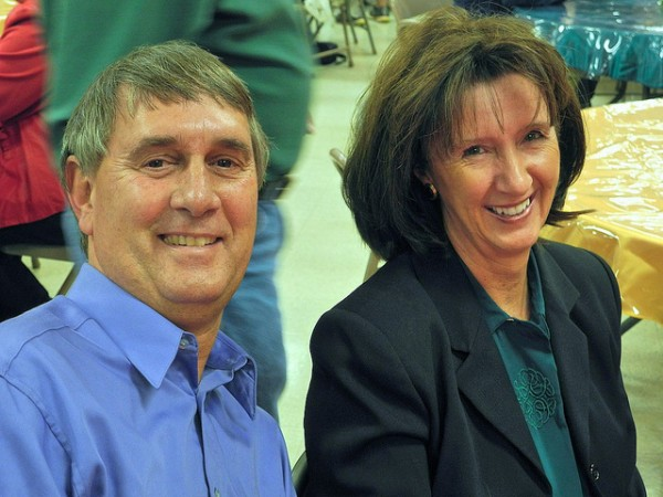 Christmas Social 2011 - Dennis and Cindy Hamrick