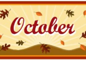 October Youth Calendar of Activities