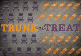 Trunk or Treat on Halloween Night