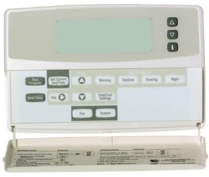 Blank display on thermostat problem screen hvac heating and cooling cheapraybanclubmaster Images