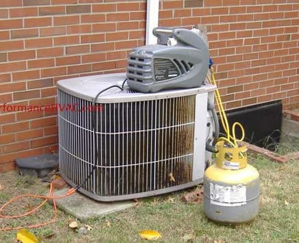 Hvac Refrigerant Leaks Air Conditioner Leaking Freon R410a R22
