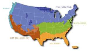 gas furnaces regional climate for heating and cooling