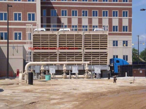 How Cooling Towers Work   Commercial HVAC Chiller Systems