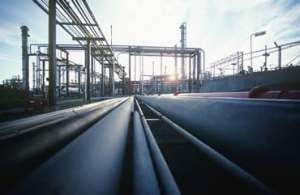 Heating Oil Refinery Pipeline