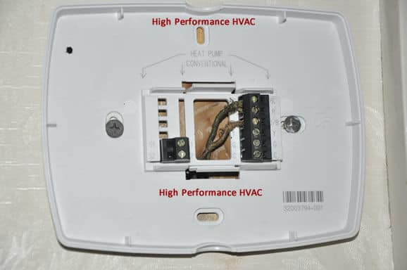 thermostat wiring colors code hvac control wire details rh highperformancehvac com american standard furnace thermostat wiring american standard furnace thermostat wiring