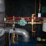 HVAC Near Boiler Piping Components