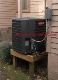 goodman condenser. goodman heat pump condenser flood protection