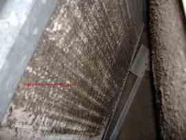 Frozen Air Conditioner - Ice on Air Conditioner