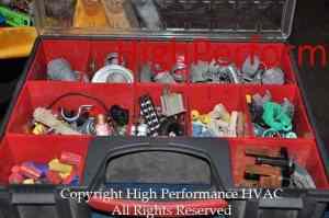 electrical parts storage kit