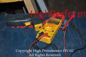 electrical multimeters and infrared temperature sensor