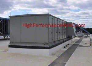 Rooftop Air Handler with Integral Heat Recovery