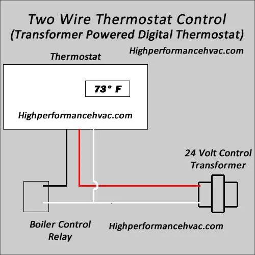 three wire thermostat diagram 1994 silverado wiring