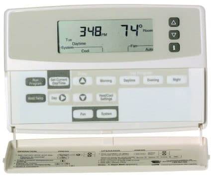 Blank Display on Thermostat Problem Screen [Honeywell Carrier Emerson]