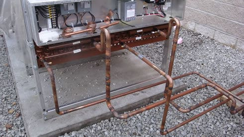 crac-unit-piping - High Performance HVAC Heating & Cooling