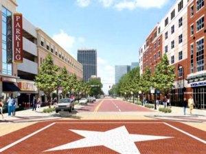 Amarillo downtown
