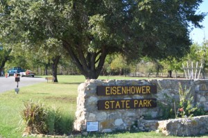 Eisenhower-State-Park-sign