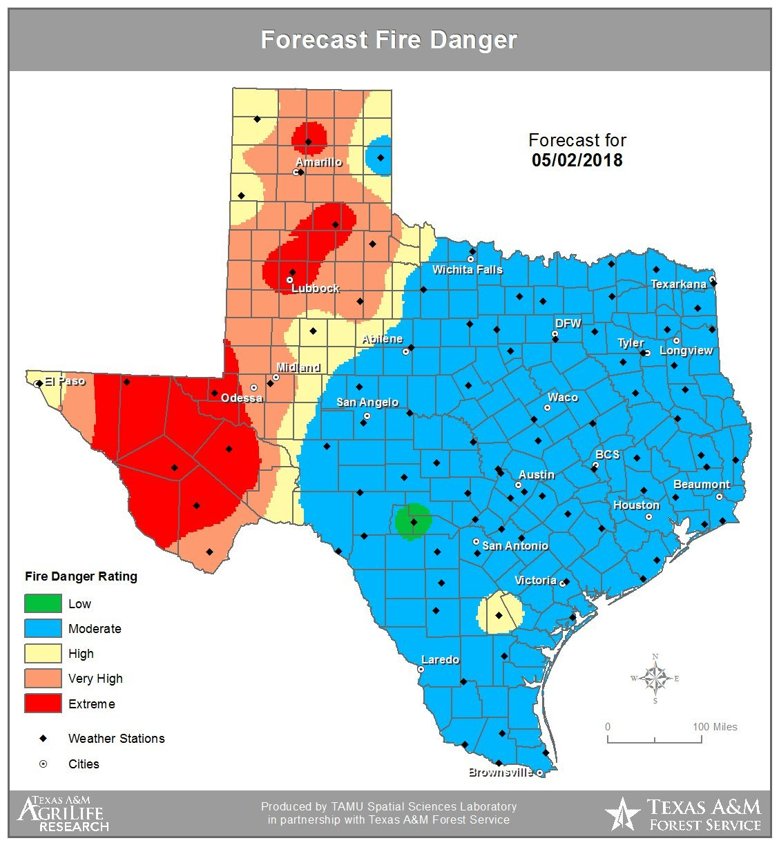 Texas Panhandle Drought High Plains Blogger
