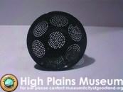 High Plains Museum   E025 Granite Ware Colander