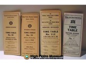 High Plains Museum | R1049 4 Timetable Books