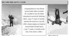 Mario Locatelli in Official 2004 Denali Climbing Report