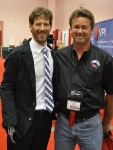 Aron Ralson and Tim Webb in 2011