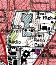 "Map of DC Highpoint (the highpoint is the filled in ""O"" in Fort Reno)"