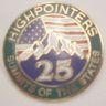 25 State Enameled Pin