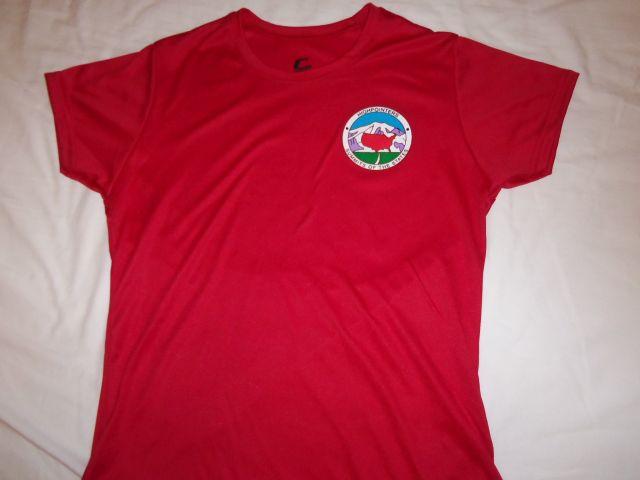 Dri-Fit T-Shirt – Red with small Club logo on Front