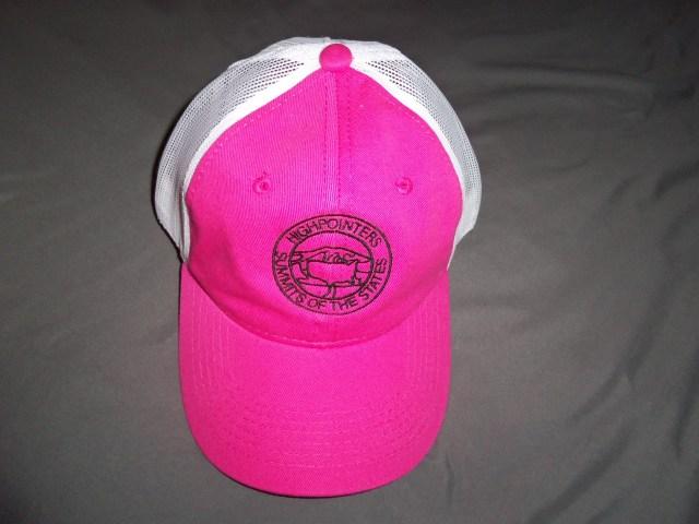 Ball Cap – Pink Highpointers Cap