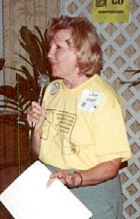 Lillian Elliott discusses the 2001 convention on Backbone Mountain