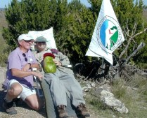 Don Holmes and Jack Longacre on Black Mesa Summit