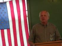 Don Holmes at Jack Longacre Memorial