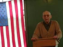 Paul Zumwalt at Jack Longacre Memorial Service