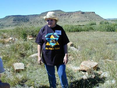 Marcia Griggs During Black Mesa, Oklahoma, 2002 Highpointers Convention