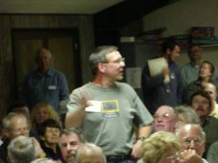 Will Mokszycki Makes the Winning Proposal for Rainier for the 2004 Convention During the Highpointers 2002 Convention at Black Mesa, Oklahoma