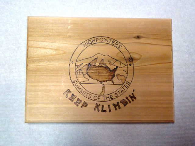 Highpointers Wood Cutting Board
