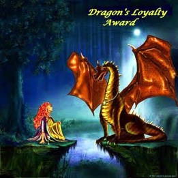 Dragons Loyal blogger award