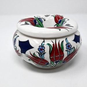 White Moroccan Handmade Ashtray